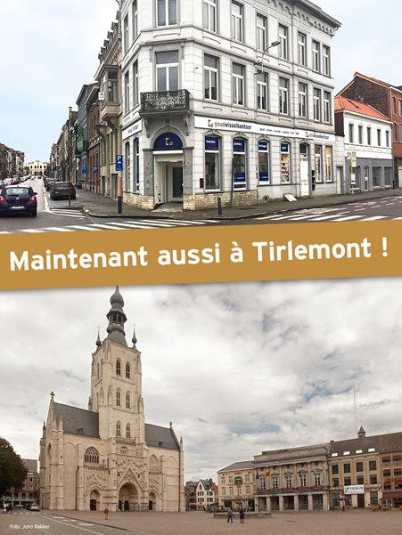 Le Comptoir de l'Or ouvre une succursale dans la ville flamande de Tirlemont