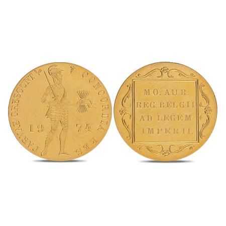 Ducat néerlandais en or