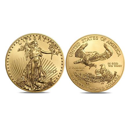 American Eagle goud