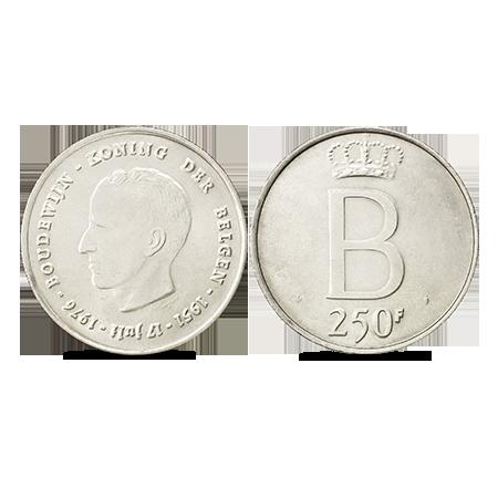 Franc belge en argent