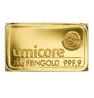 Lingot d'or de 10 grammes