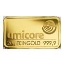 Lingot d'or de 20 grammes