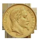 Napoléon français en or