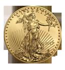 American Eagle en or