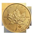 Maple Leaf en or