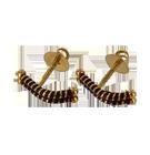 Boucles d'oreilles en or