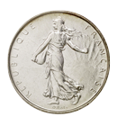 Franc français en argent