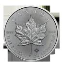 Maple Leaf d'argent d'1 once